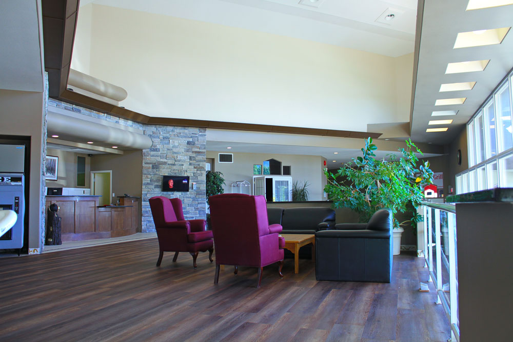 Clearwater Lodge Lobby